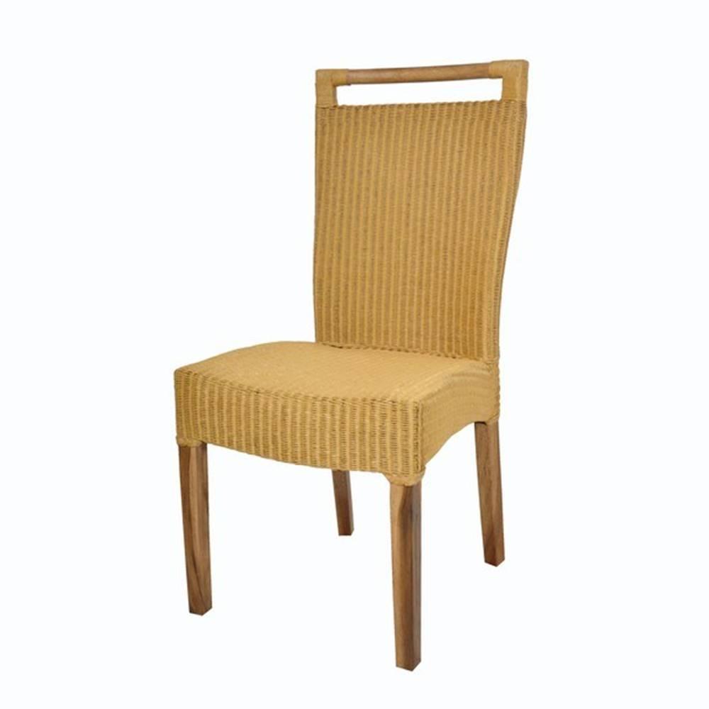 Sconto Jedálenská stolička CALLISTA žltohnedá