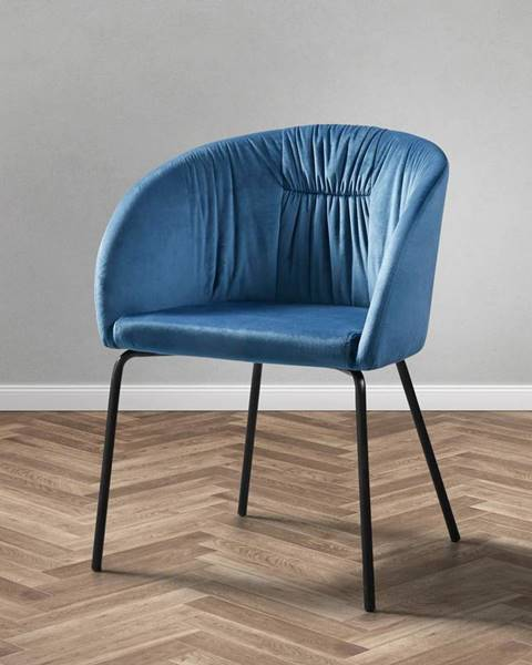 Modrá stolička Möbelix