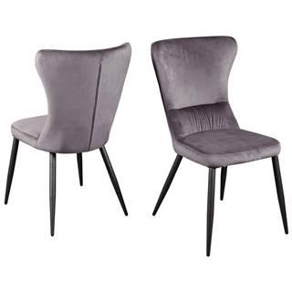 Jedálenská stolička Fiona Šedá