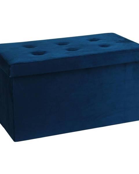 Modrá lavica Möbelix