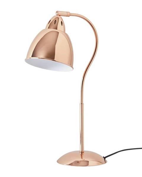 Medená stolová lampa Möbelix