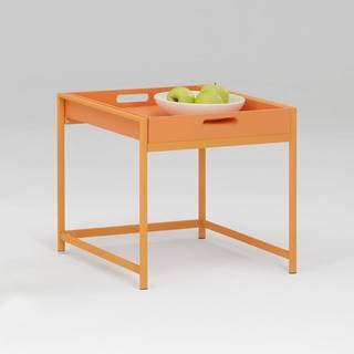 Servírovací stolík ANNIKA oranžový