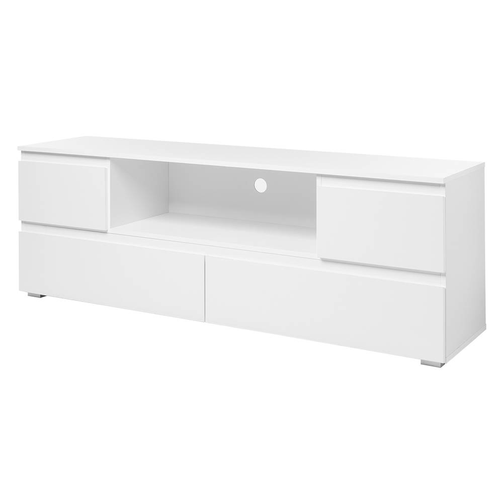 IDEA Nábytok TV stolík IMAGE 18 biely