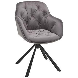 stolička Eileen sivá