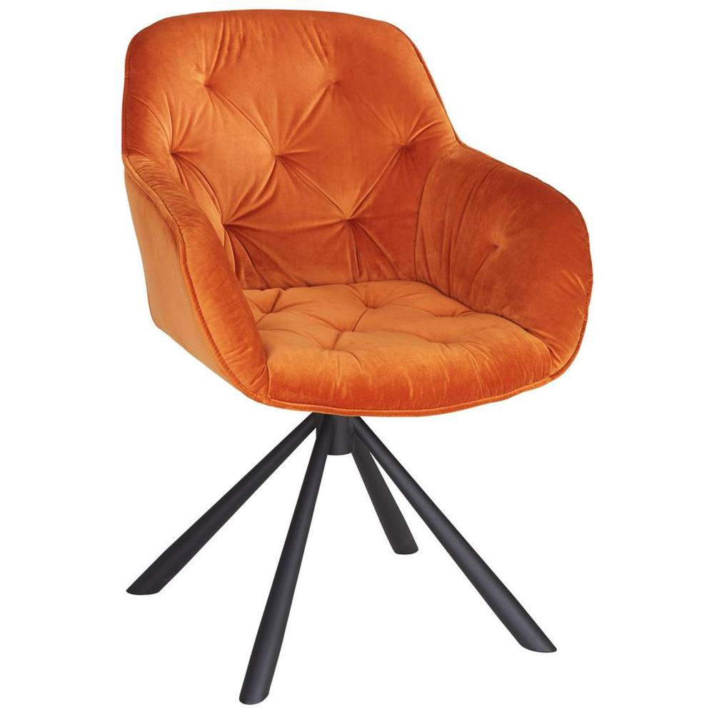 Möbelix stolička Eileen Oranžová