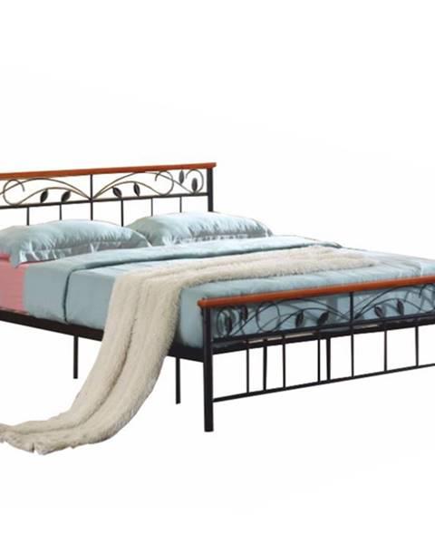 Čierna posteľ Tempo Kondela