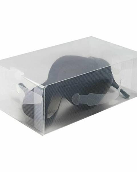 Transparentný úložný box Compactor