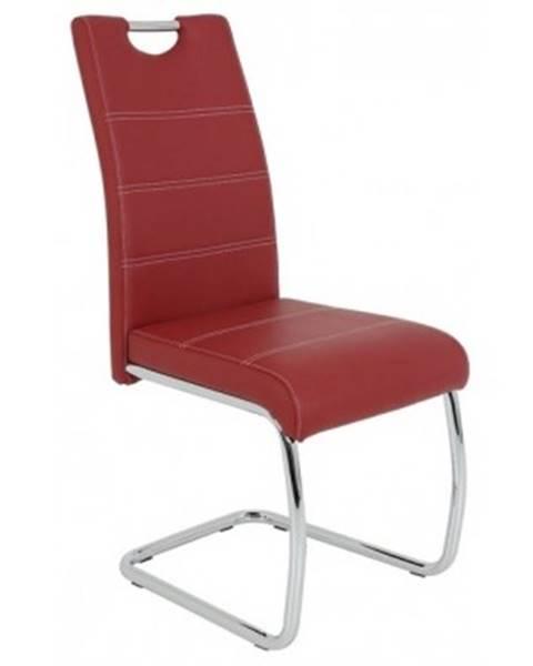 Červená stolička ASKO - NÁBYTOK