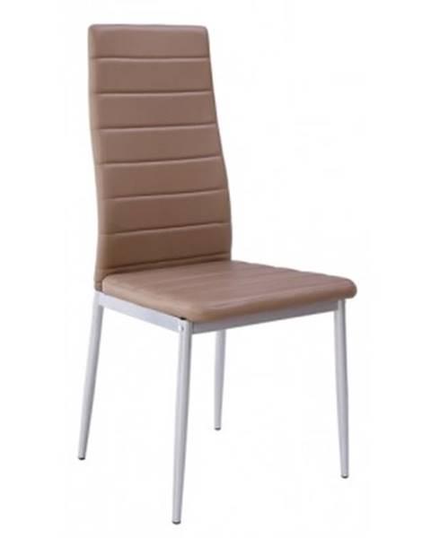 Béžová stolička ASKO - NÁBYTOK