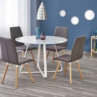 Jedálenský stôl Looper - prům.115x76 cm