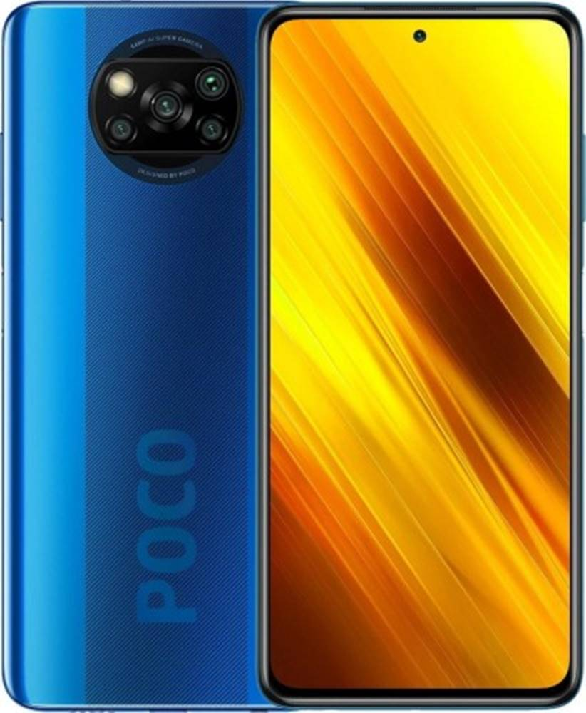Xiaomi Mobilný telefón Xiaomi Poco X3 6GB/64GB, modrá