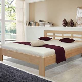 Drevená posteľ Vegas 2, 180x200 vr. výkl.roštu a úp,bez matracov