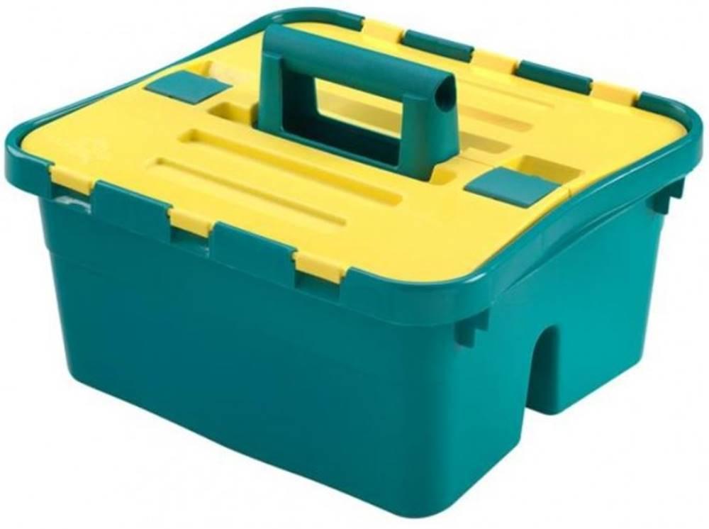 HEIDRUN Úložný box s vekom Heidrun HDR1638, CADDY, plast, 38x35x25cm