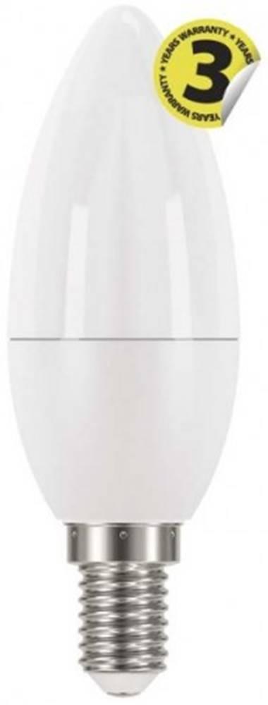 EMOS LED žiarovka Emos ZQ3220, E14, 6W, sviečka, číra, teplá biela