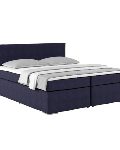 Modrá posteľ Möbelix