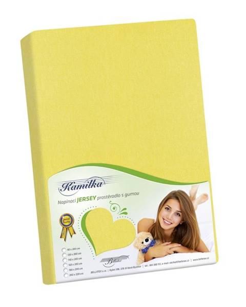Žlté prestieradlo Bellatex
