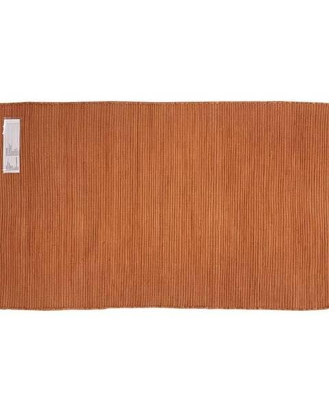 Oranžový koberec Möbelix