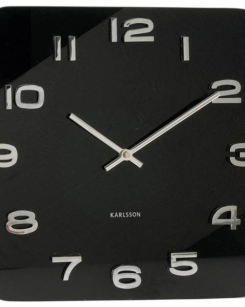 Čierne dekorácie Karlsson