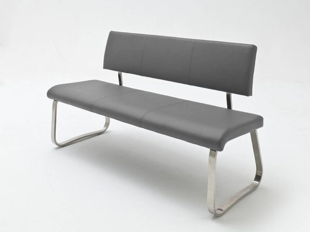 OKAY nábytok Jedálenská lavica Lucile sivá