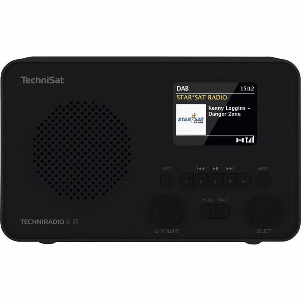 Technisat Internetový rádioprijímač Technisat Techniradio 6 IR čierny