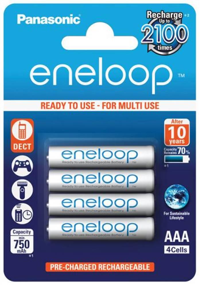 Panasonic Batéria nabíjacie Panasonic Eneloop AAA, HR03, 750mAh, Ni-MH,