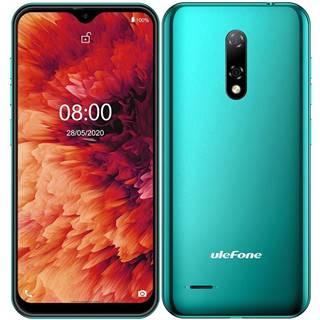Mobilný telefón UleFone Note 8P zelený