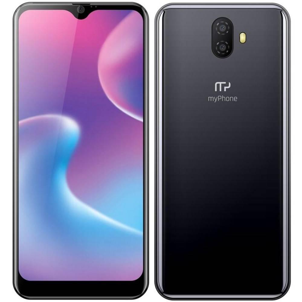 myPhone Mobilný telefón myPhone Prime 5 čierny/strieborný