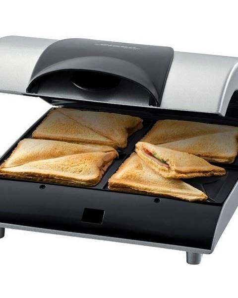 Čierny sendvičovač KELA