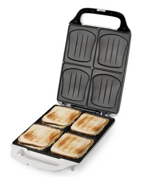 Biely sendvičovač Domo