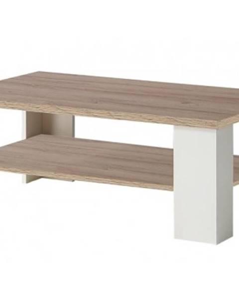 Biely stôl ASKO - NÁBYTOK