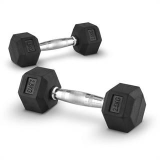 Capital Sports Hexbell 2,5, 2,5 kg, jednoručná činka, pár