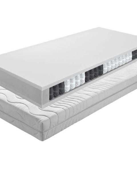 Biela posteľ Tempo Kondela