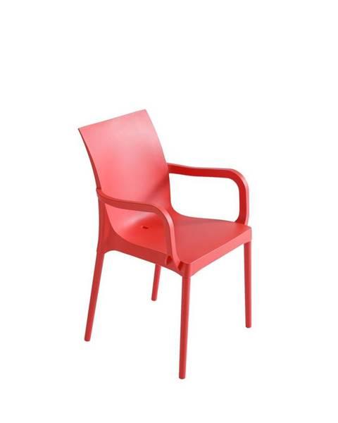 Červená stolička Möbelix