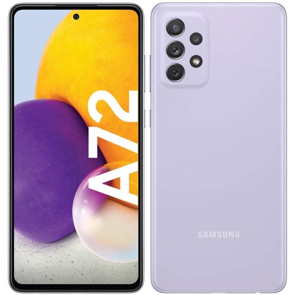 Samsung Mobilný telefón Samsung Galaxy A72 fialový