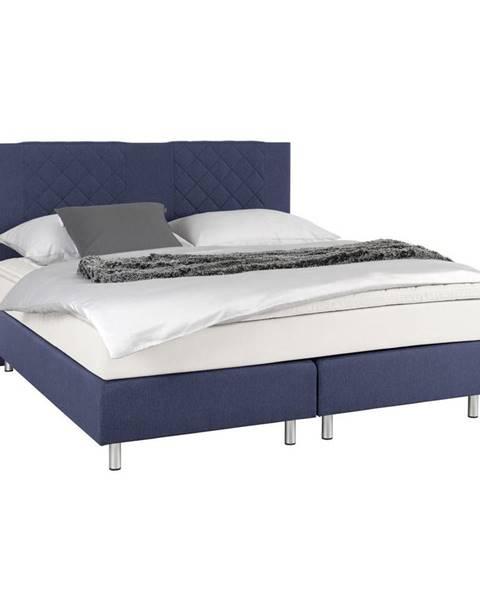 Modrá posteľ Carryhome