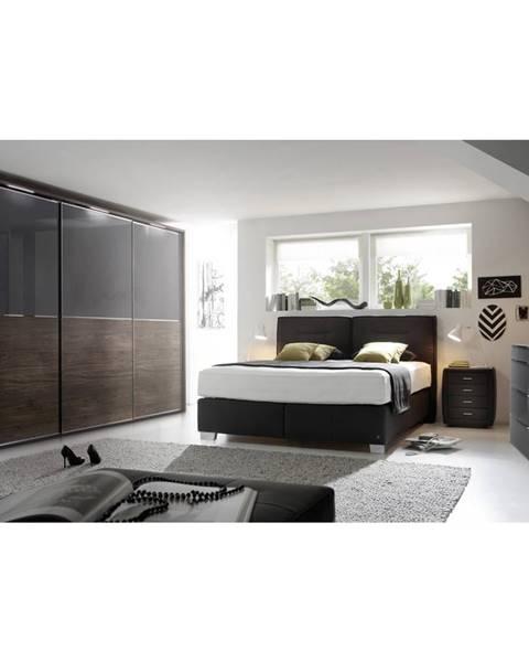 Čierna posteľ Dieter Knoll
