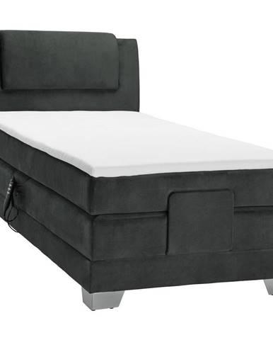 Čierna posteľ Esposa