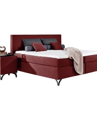 Červená posteľ Esposa