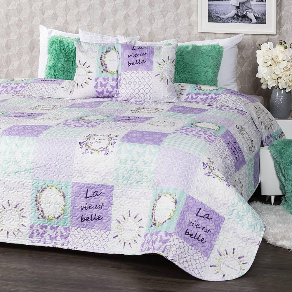 4Home Prehoz na posteľ Lave...