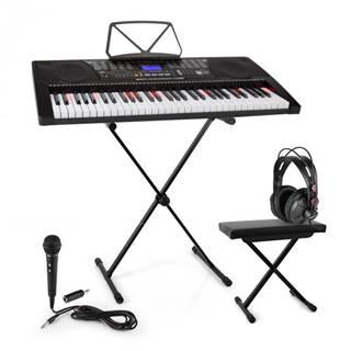 SCHUBERT Etude 225, USB keyboard so slúchadlami, stojan na keyboard, mikrofón a lavička