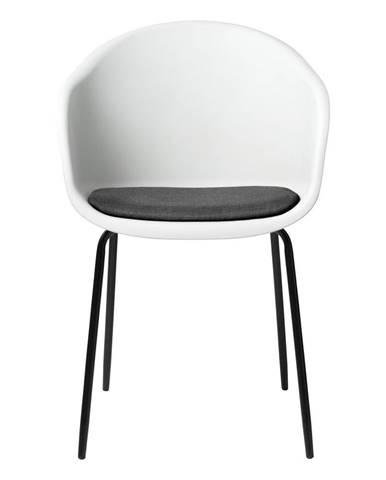 Biela jedálenská stolička Unique Furniture Topley