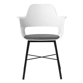 Biela jedálenská stolička Unique Furniture Wrestler