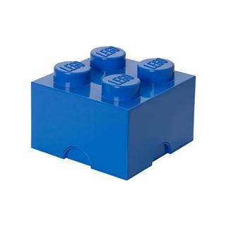 Modrý úložný box štvorec LEGO®