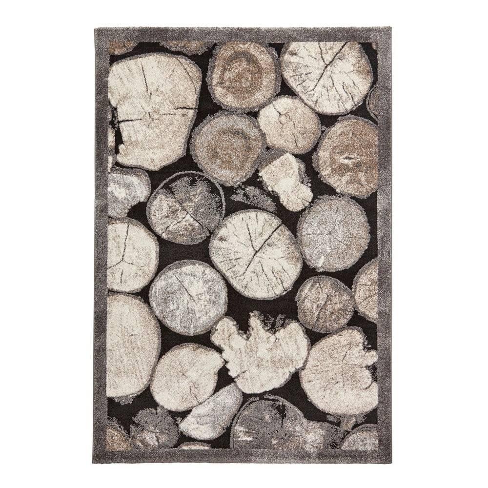 Think Rugs Koberec s motívom dreva Think Rugs Woodland, 120×170cm