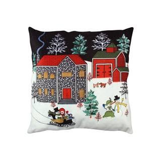 Vankúš Christmas Fun, 43 x 43 cm