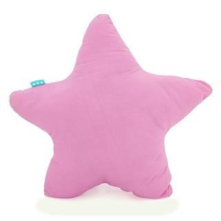 Ružový bavlnený vankúšik Happy Friday Basic Estrella Pink, 50x50cm