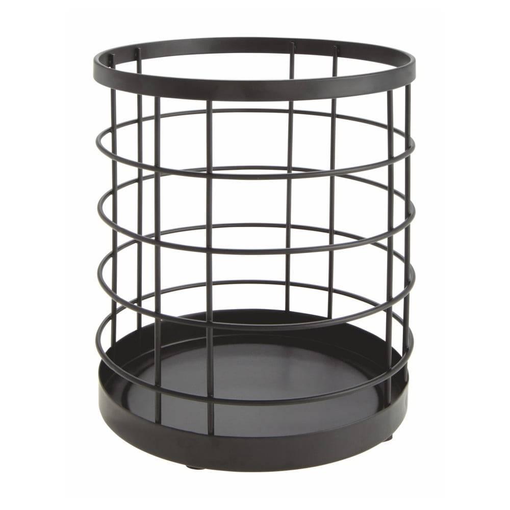 iDesign Čierny stojan na kuchynské pomôcky iDesign Austin