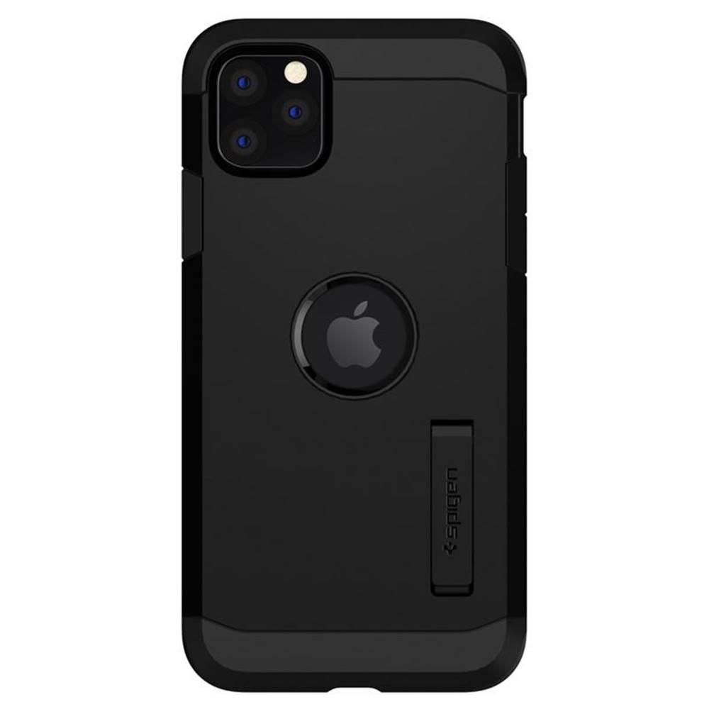 Spigen Kryt na mobil Spigen Tough Armor na Apple iPhone 11 Pro čierny
