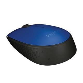 Myš  Logitech Wireless MoM171 modrá / optická / 2 tlačítka /