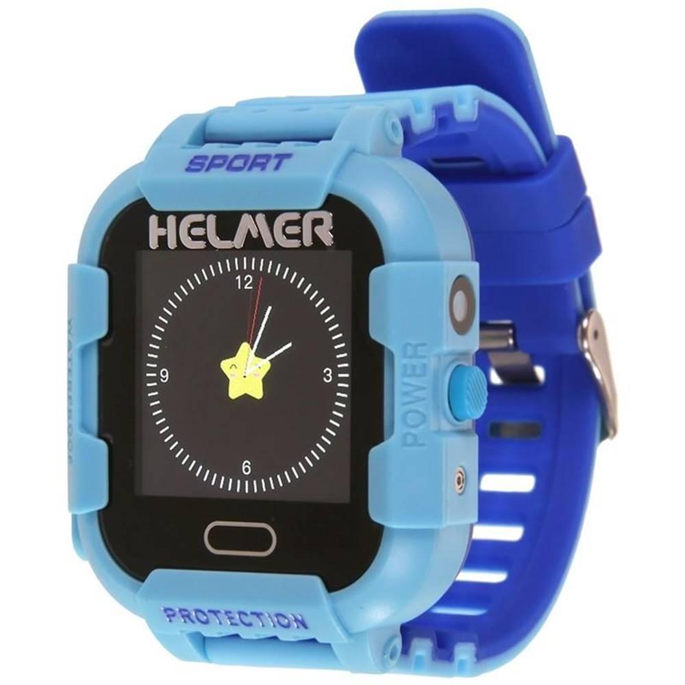 Helmer Inteligentné hodinky Helmer LK 708 dětské s GPS lokátorem modrý